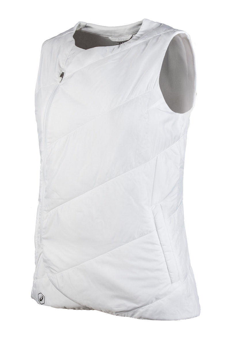Waistcoat ASICS 145336-0001 sports and entertainment for women edging single breasted waistcoat three piece suit