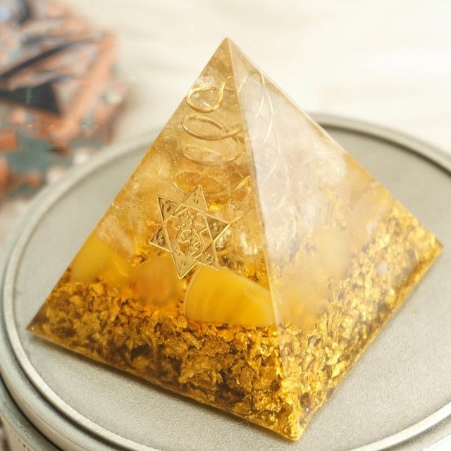 Star of David Orgonite Pyramid