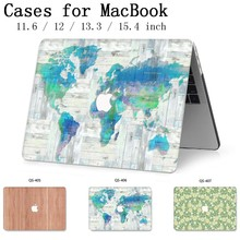 For New MacBook Air Pro Retina 11 12 13 15 For 2019 Apple Laptop Case Bag 13.3 15.6 Inch With Screen Protector Keyboard Cove Bag