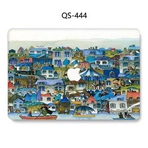 Image 2 - 새로운 핫 맥북 에어 프로 레티 나 11 12 13 15 애플 노트북 케이스 가방 13.3 15.4 인치 화면 보호기 키보드 코브 tas