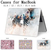 New For MacBook Air Pro Retina 11 12 13 15 With Screen Protector Keyboard Cove Apple Case Laptop Case For MacBook 13.3 15.4 Inch new us top case with keyboard for macbook pro retina 13 a1502 topcase keyboard 2015 2016 years