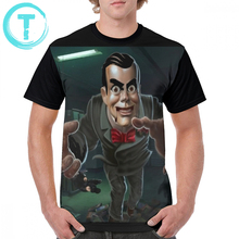 Goosebumps T Shirt Slappy T-Shirt Men Awesome Graphic Tee Shirt Streetwear 100 Polyester Oversize Short Sleeve Graphic Tshirt