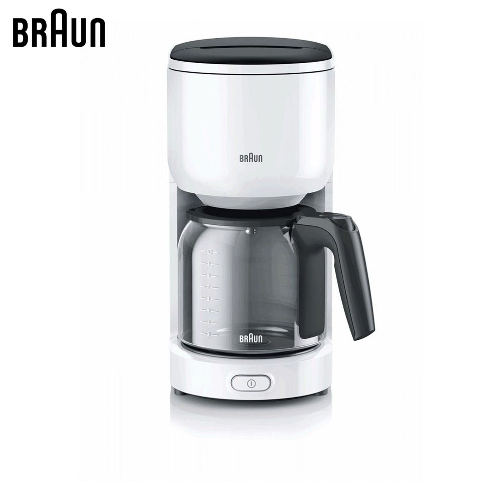 Coffee Makers Braun KF 3120WH coffee machine espresso machine