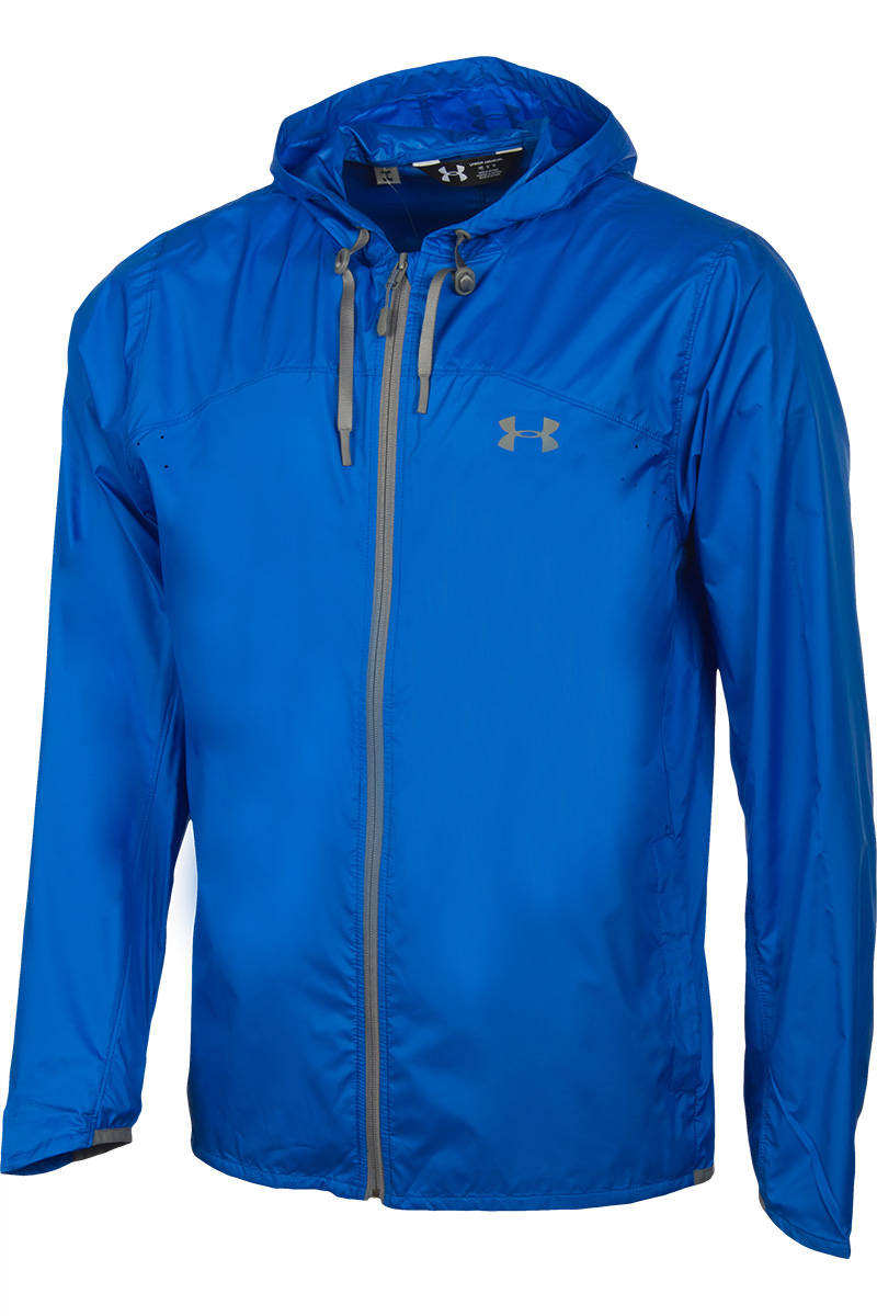 available from 10.11  Under Armour blue running blazer 1290517-789