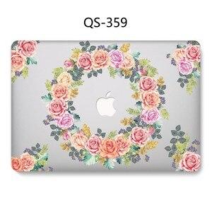 Image 4 - Hot New Laptop Case Para Macbook 13.3 15.6 11 12 13 Polegada Para MacBook Air Pro Retina 15.4 Com Tela protetor de Teclado Enseada Presente