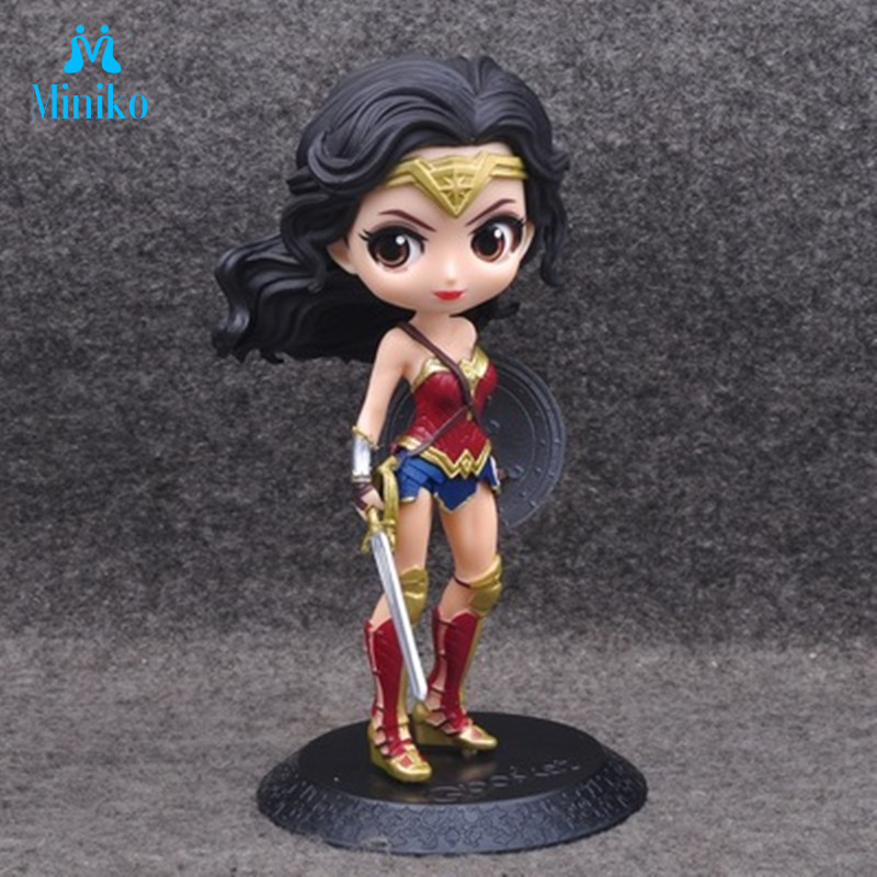 Anime Figure Model-Toy Collectible Suicide Squad Quinn Superheroes Harley Q-Posket Wonder Woman