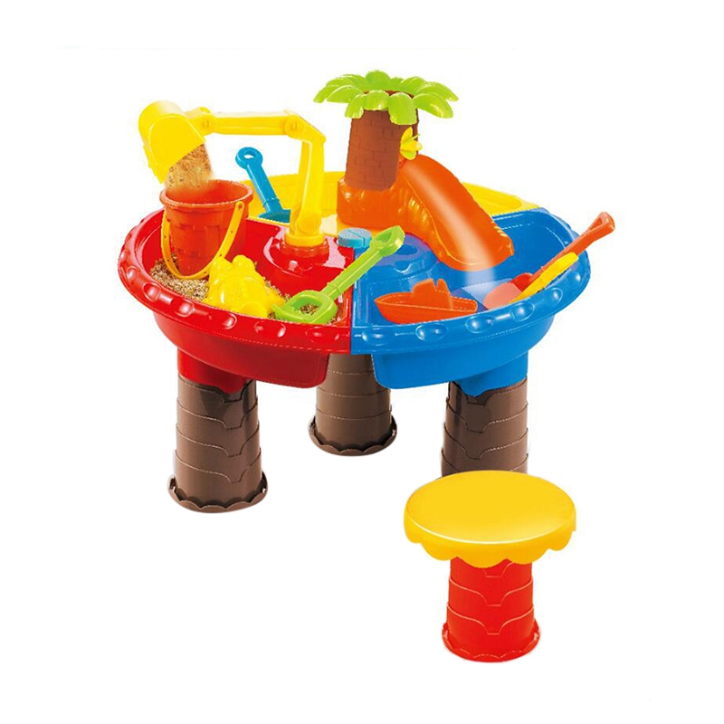 ChildrenS Bunker Set Beach Bunker Table Water Outdoor Garden Toy Player Beach Table Toy Round TableChildrenS Bunker Set Beach Bunker Table Water Outdoor Garden Toy Player Beach Table Toy Round Table