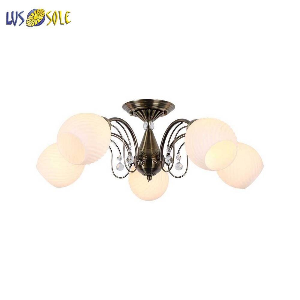 Chandeliers Lussole 128383 ceiling chandelier for living room to the bedroom indoor lighting