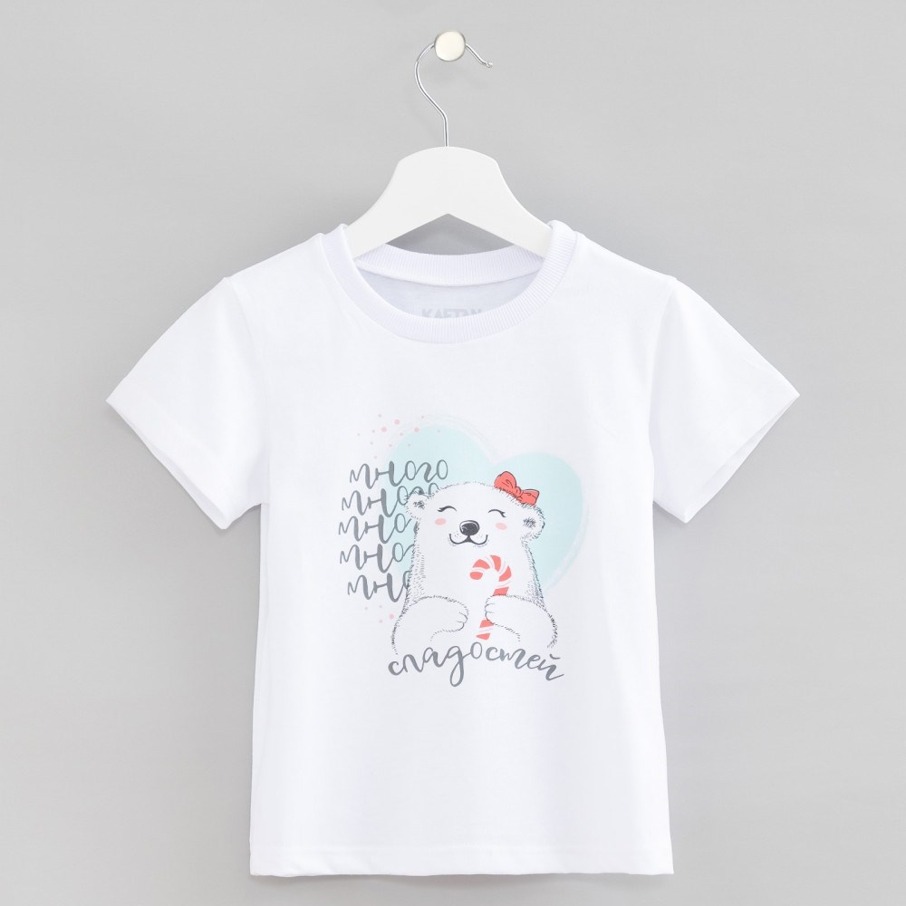 T Shirt kids KAFTAN Many sweets 3 6 years 100% cotton fashionable soft cotton hat for 0 3 years old baby multi color