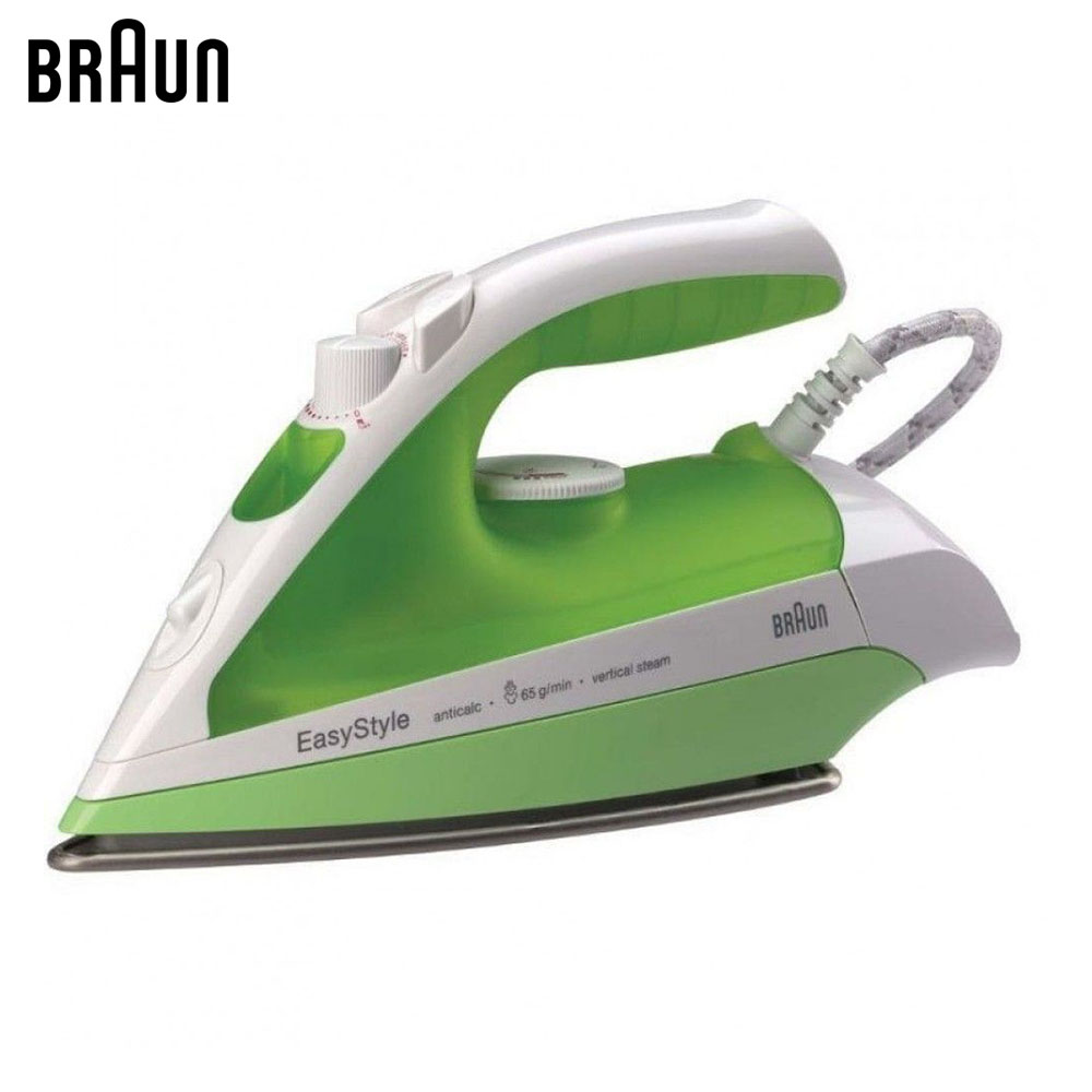 Electric Irons Braun TexStyle 3 TS330 C steam iron steamer smad 2l 110v vertical garment fabric steamer home portable 45s heat up electric iron steam steamer brush for clothes