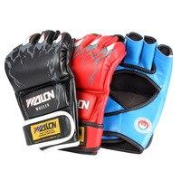 Thick Boxing Gloves Midi MMA Gloves UFC Sanda Gloves Sandbags Professional Fight Fighting Gloves