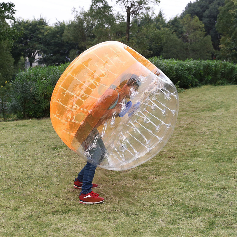 Air Bubble Soccer Zorb Ball 170cm Air Bumper Ball Inflatable Body Zorb Bubble Ball Football Kids Outdoor Toy Christmas Gift - 5