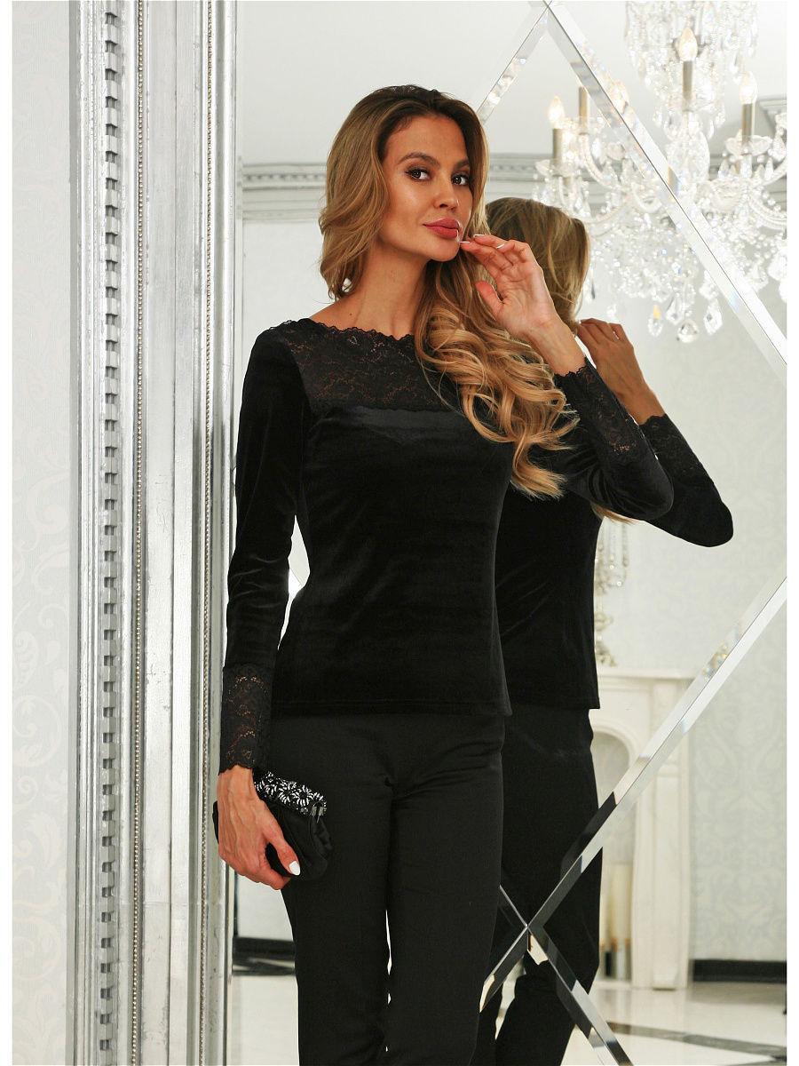 LUSSOTICO blouse ruffle trim blouse
