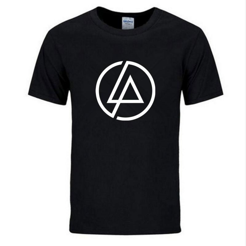 2019 Summer Fashion Men T Shirt Lincoln LINKIN Park T-Shirt Cotton Linkin Brand Clothes Short Tops Tees