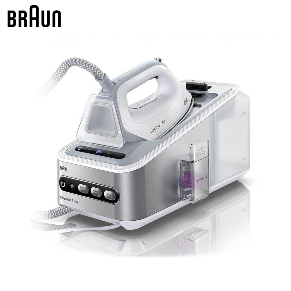 Electric Irons Braun CareStyle 7 IS7155 WH steam iron steamer smad 2l 110v vertical garment fabric steamer home portable 45s heat up electric iron steam steamer brush for clothes
