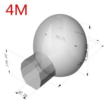 3/4/5m 10/13/16ft Outdoor Camping Inflatable Bubble Tent Large Diy House Dome Camping Cabin Lodge Air Bubble Transparent Tent 5