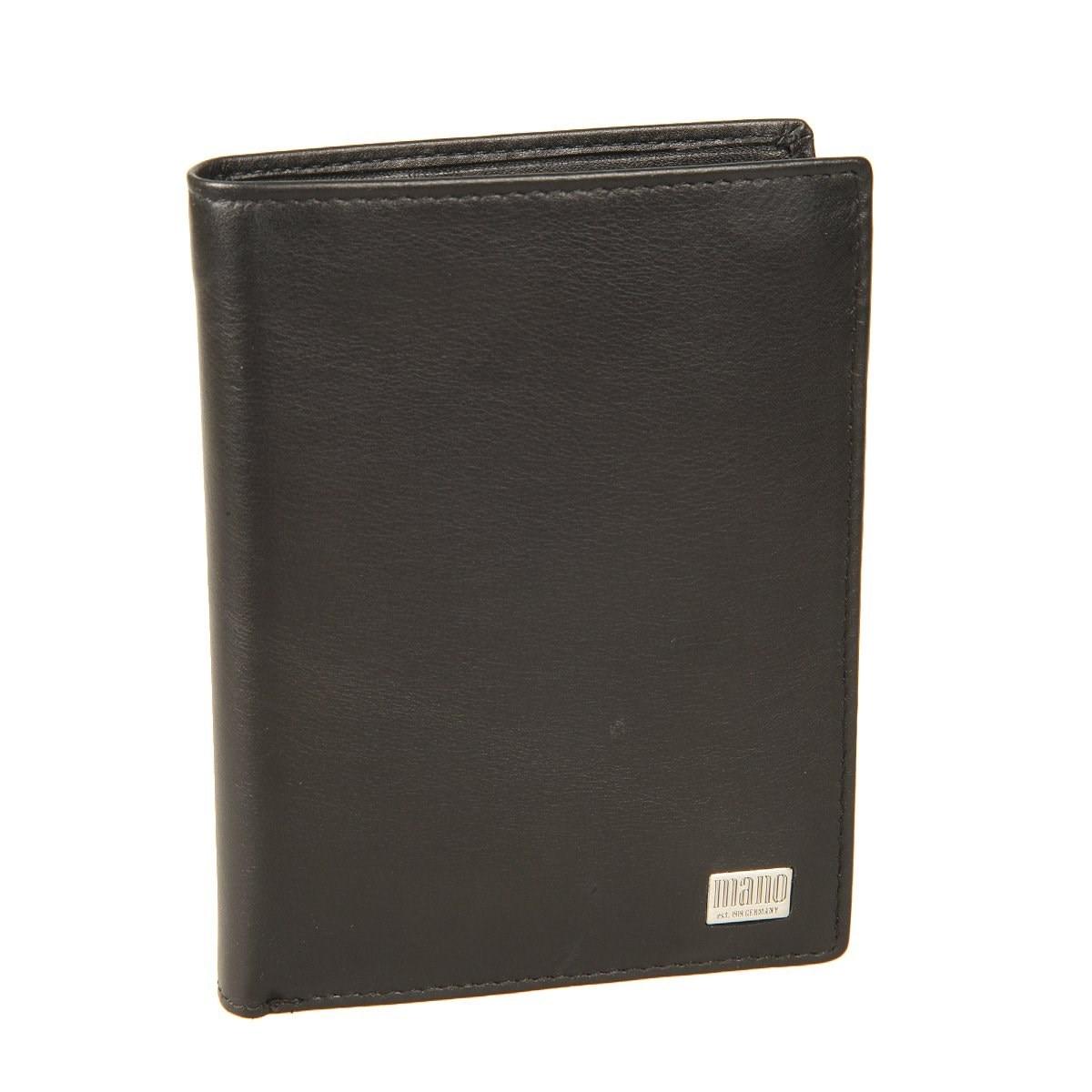 Coin Purse Mano 15806 Linea black декобокс postermarket коньяк 40 х 50 см dc 4014