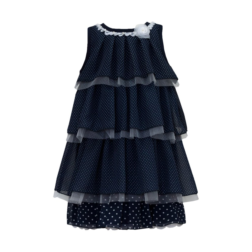 Dress Blues kids clothes children clothing stay naive girl dress spring summer 2018 fashion children s clothing children s flower dress cotton princess costume