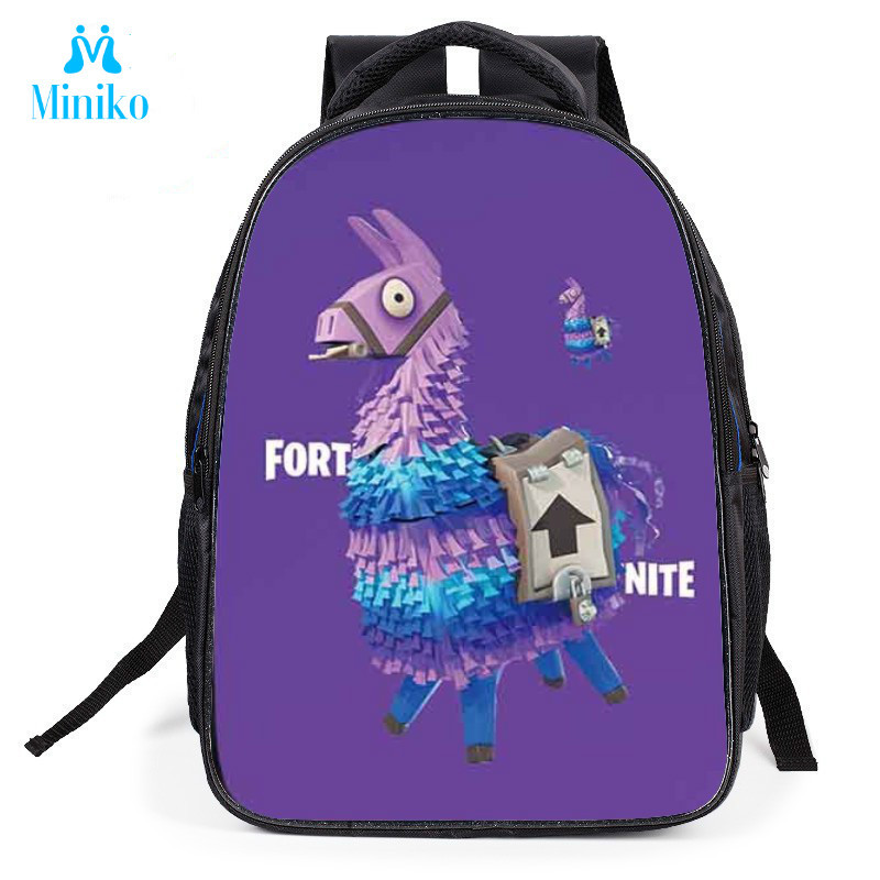 Fortnight Action Toy Figures Student School Bags Small Size Backpacks Cartoon Game Battle Royale BagFortnight Action Toy Figures Student School Bags Small Size Backpacks Cartoon Game Battle Royale Bag
