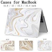 2019 Горячее предложение для ноутбука чехол для ноутбука MacBook Air Pro retina 11 12 13 13,3 15,4 дюймов с защитной клавиатурой для экрана