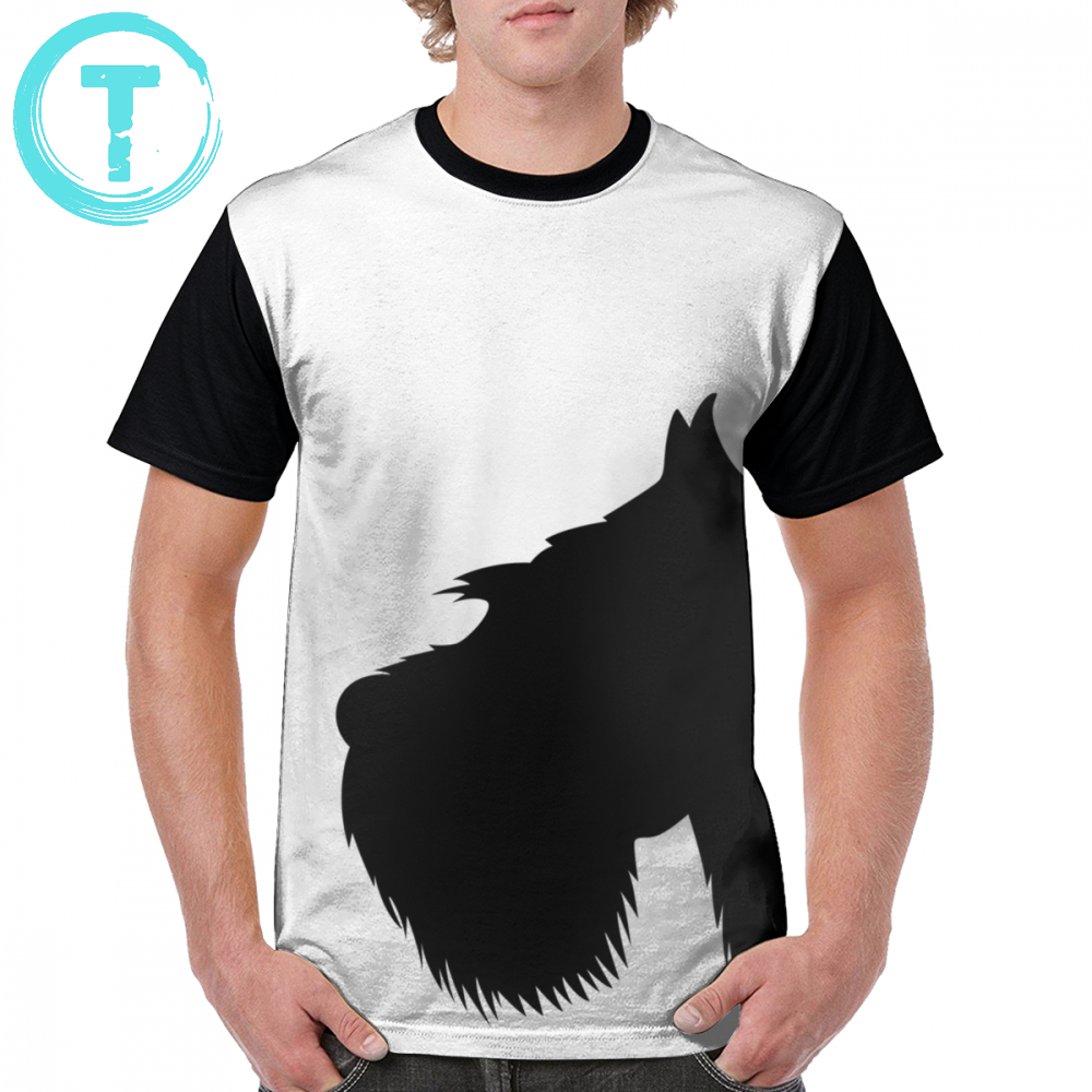 Miniature Schnauzer T Shirt My Schnauzer T-Shirt Printed Short Sleeves Graphic Tee Shirt Polyester Man Streetwear 4xl Funny Tshirt