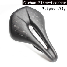 Bicycle Carbon Fiber Saddle Road Bike saddle Lightweight Seat Cushion Bicicleta Cycling Parts Bike Saddle 174g carbon saddle