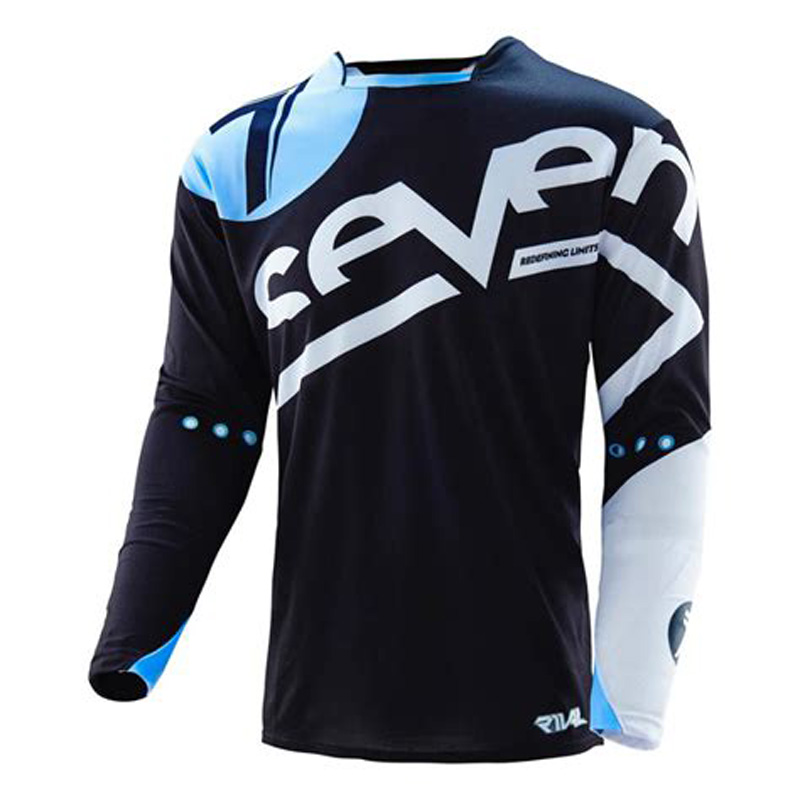 New Seven Long Sleeve Downhill Jersey Crossmax Ciclismo Clothes for Men MTB T Shirt Mountain Bike Motorcycle Jersey in Cycling Jerseys from Sports Entertainment