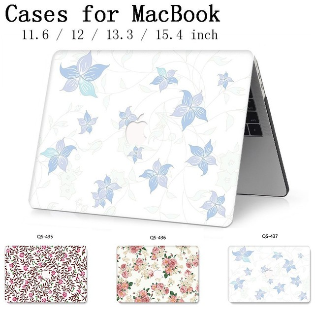 Hot For MacBook Air Pro Retina 11 12 13 15 For Apple New Laptop Case Bag 13.3 15.4 Inch  With Screen Protector Keyboard Cove tas