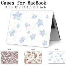 Hot Voor MacBook Air Pro Retina 11 12 13 15 Voor Apple Nieuwe Laptop Case Bag 13.3 15.4 Inch Met screen Protector Toetsenbord Cove tas