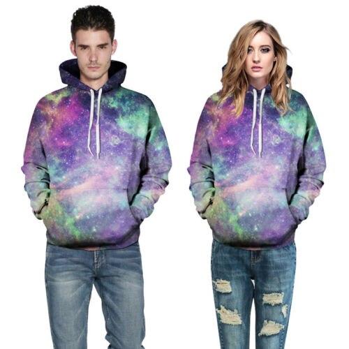 Space Galaxy Hoodies Men/Women Hooded 3d Brand Clothing Cap Print Paisley Nebula Jacket