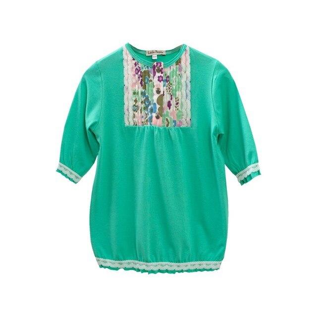 Блузка-туника трикотажная