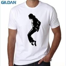 GILDAN  Men Women Print MJ T-shirt O-Neck Short sleeves Casual Produced To Commemorate Michael Jackson T Shirt