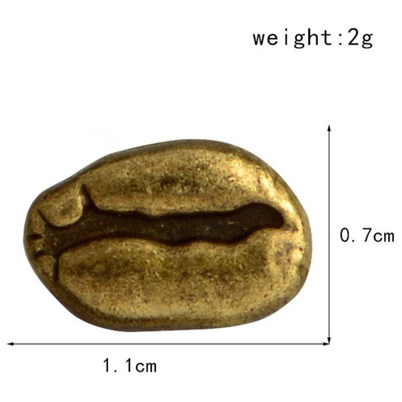 สีแดง Cooper โบราณเงินกาแฟถั่ว PIN Enamel Pins กระเป๋าเป้สะพายหลังกางเกงยีนส์แจ็คเก็ตสำหรับผู้ชายผู้หญิง