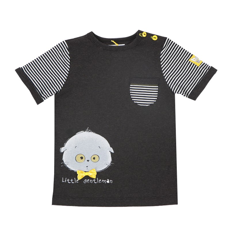 T-shirt Anthracite kids clothes children clothing luxart краска акриловая luxshine цвет белый 80 мл