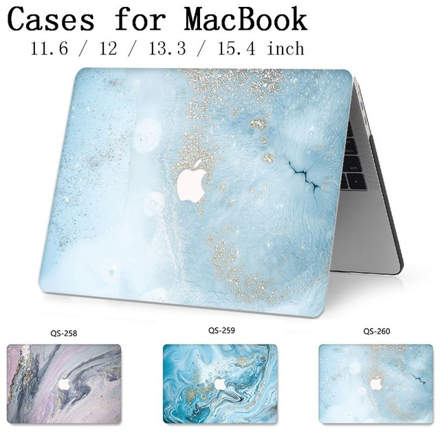 For Laptop Case Hot Notebook Bags Sleeve For MacBook Air Pro Retina 11 12 13 15.4 13.3 Inch With Screen Protector Keyboard Cove