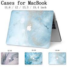 ラップトップのためのケースホットノートブックバッグ Macbook Air のプロ網膜 11 12 13 15.4 13.3 インチ画面プロテクターキーボード入り江