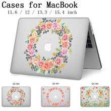 Laptop Case For Apple Macbook 13.3 15.6 Inch For MacBook Air Pro Retina 11 12 13 15.4 With Screen Protector Keyboard Cove Hot