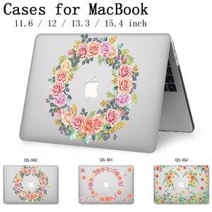 Image 1 - Laptop Fall Für Apple Macbook 13,3 15,6 Zoll Für MacBook Air Pro Retina 11 12 13 15,4 Mit Screen Protector tastatur Cove Heißer