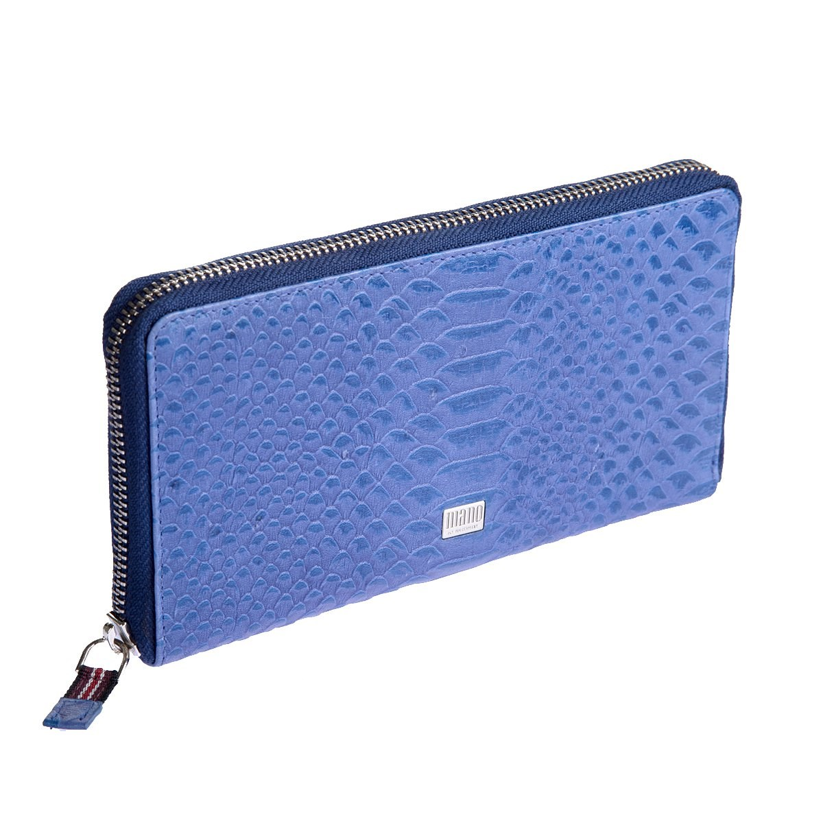 Coin Purse Mano 20151 croco blue босоножки croco
