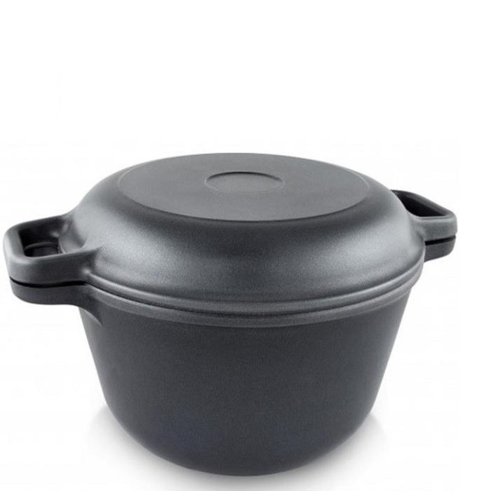 Казан Нева металл посуда, Литая, 5 л