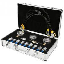 1 компл. Экскаватор гидравлического давления тестовый комплект w/test ing Point муфта и датчик Профессионального гидравлического давления Guage