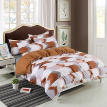 New Plaid Design Home Duvet Cover Pillowcase Bedding Sets Cotton Polyester Quality Textile Healthy