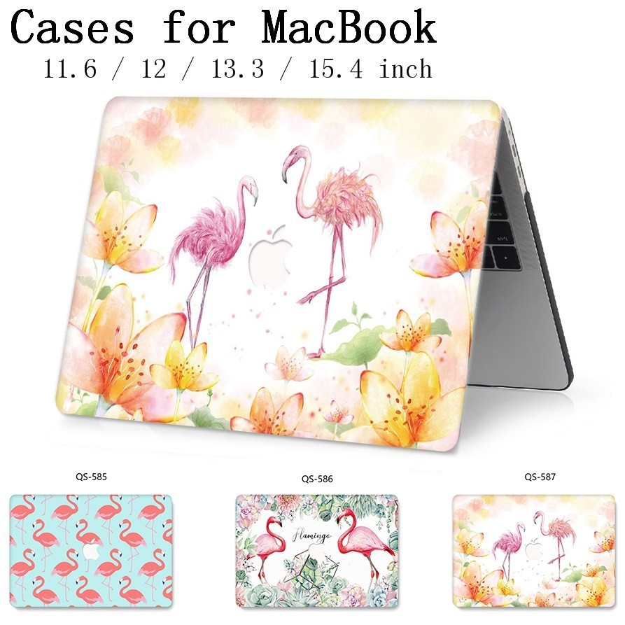 New For Laptop Case Apple MacBook Air Pro Retina 11 12 13 15 13 3 15 4 Inch With Screen Protector Keyboard Cove For MacBook Case in Laptop Bags Cases from Computer Office