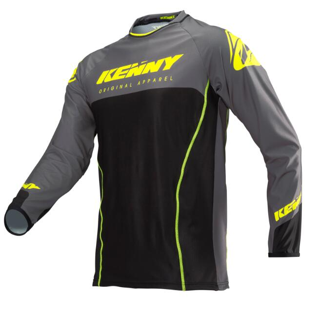 Shirt Mtb Jersey Kenny Motorcycle Motocross-Dh Long-Sleeve Clothing Wear Bike Breathable