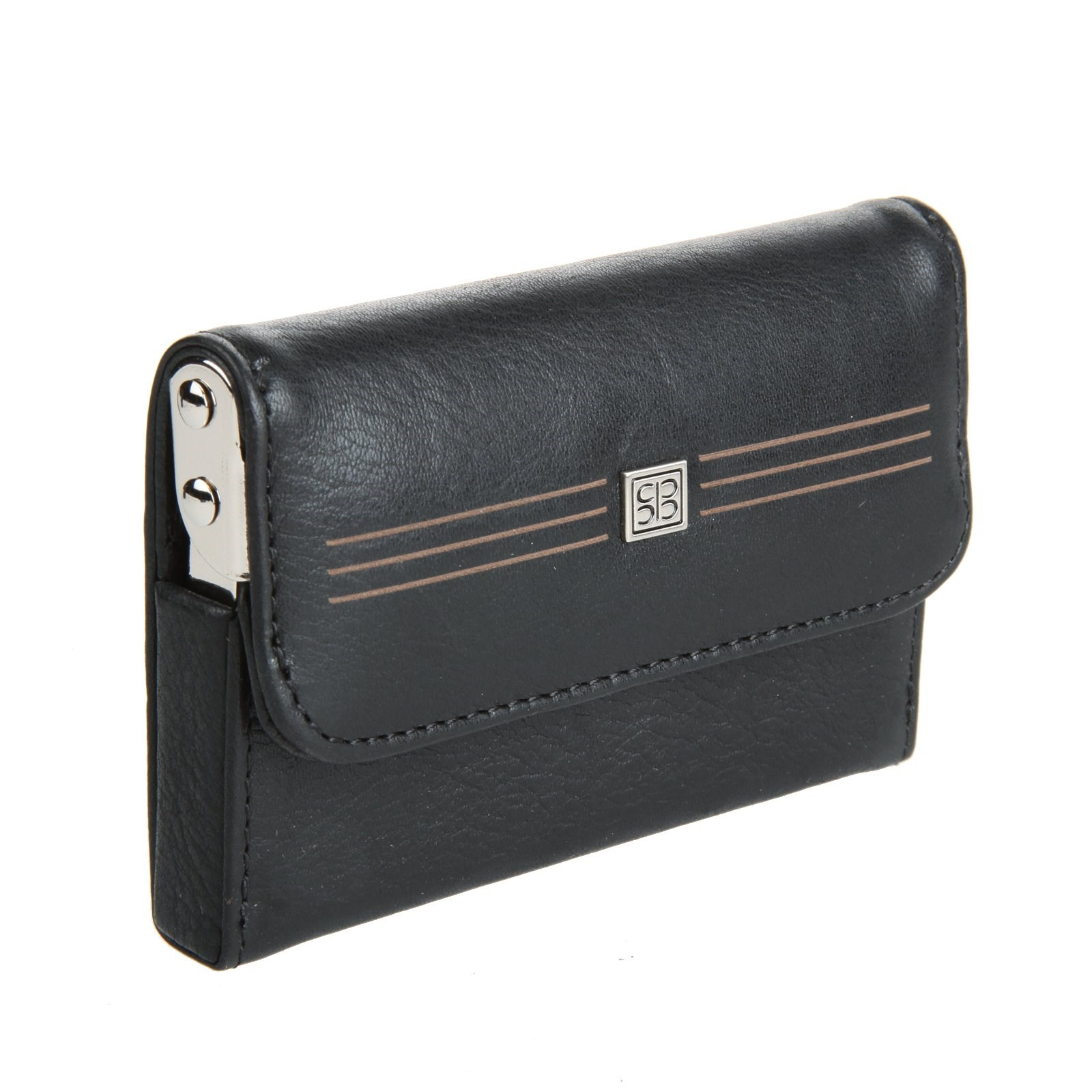Business Card Holder Sergio Belotti 2680 West black 2017 new fashion id holders bank credit card holder unisex pu leather card case business working id badge covers without lanyard
