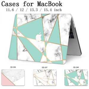 Image 1 - For Laptop Case New Notebook Sleeve Bags For MacBook Air Pro Retina 11 12 13 15.4 13.3 Inch With Screen Protector Keyboard Cove