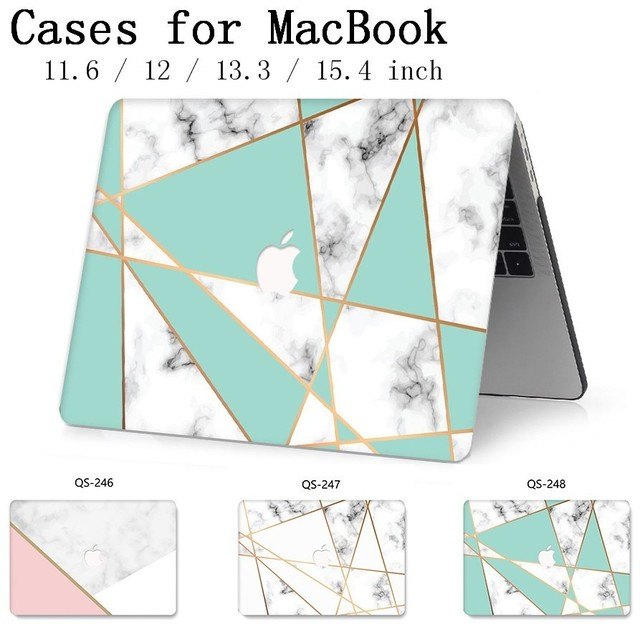 For Laptop Case New Notebook Sleeve Bags For MacBook Air Pro Retina 11 12 13 15.4 13.3 Inch With Screen Protector Keyboard Cove