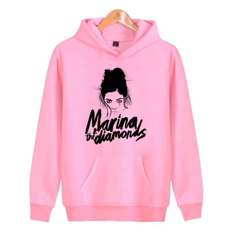 marina and the diamonds Hoodies Men 2019 Hot Male Long Color Hooded Mens Hoodie Tracksuit Sweat Casual Sportswear N7687