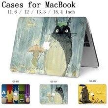 Funda para ordenador portátil para Macbook 13,3 15,6 pulgadas nueva para Macbook Air Pro Retina 11 12 13 15,4 con teclado Protector de pantalla cove caliente regalo de