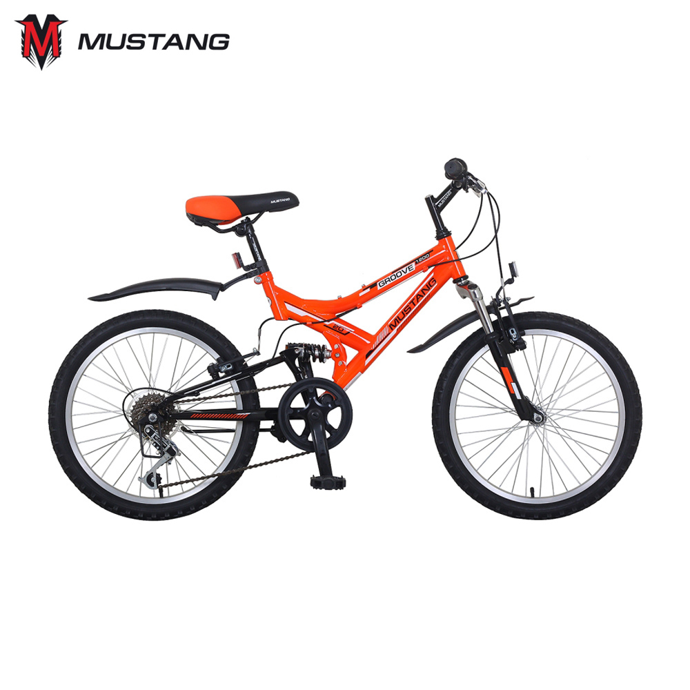 Bicycle Mustang 265248 bicycles teenager bike children for boys girls boy girl ST20047-GR